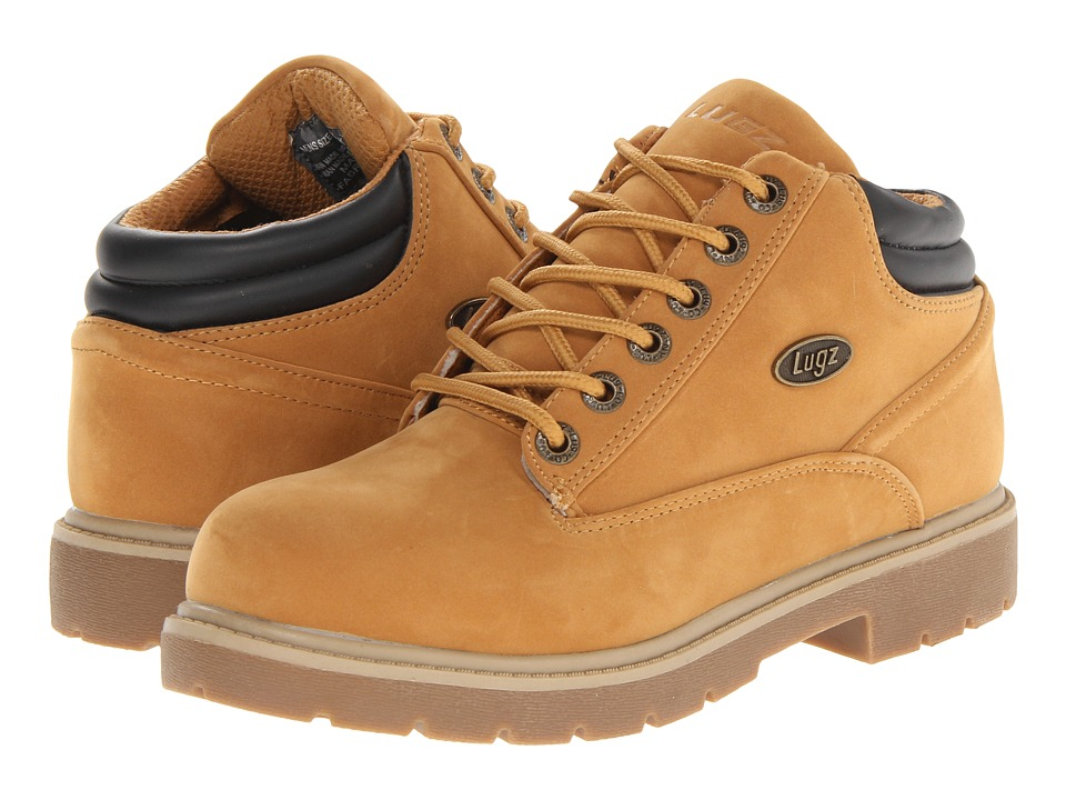 Lugz - Monster Mid (Golden Wheat/Bark Cream/Gum) Men's Lace up casual Shoes