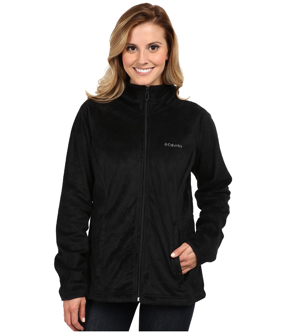 Columbia - Cozy Cove Full-Zip Hoodie (Black) Women's Coat
