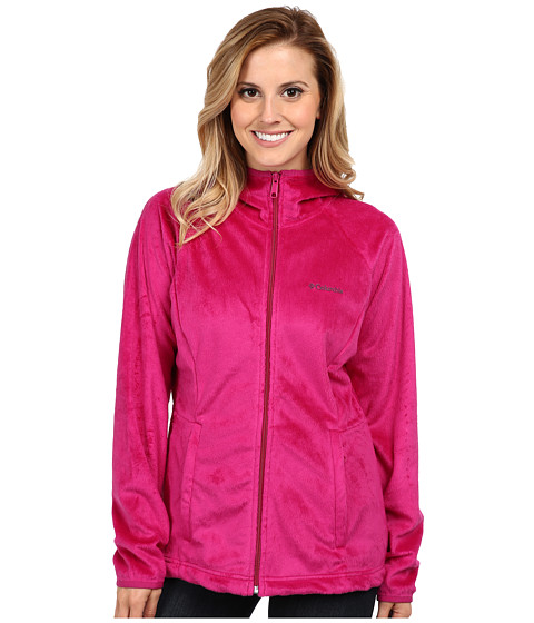 Columbia - Cozy Cove Full-Zip Hoodie (Deep Blush) Women