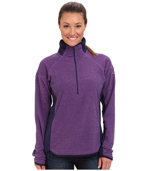Columbia - Ombre Springs Fleece Half Zip (Blossom Pink/Inkling) Women