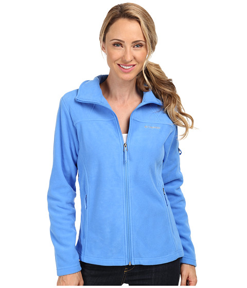 Columbia - Fast Trek II Full-Zip Fleece Jacket (Harbor Blue) Women