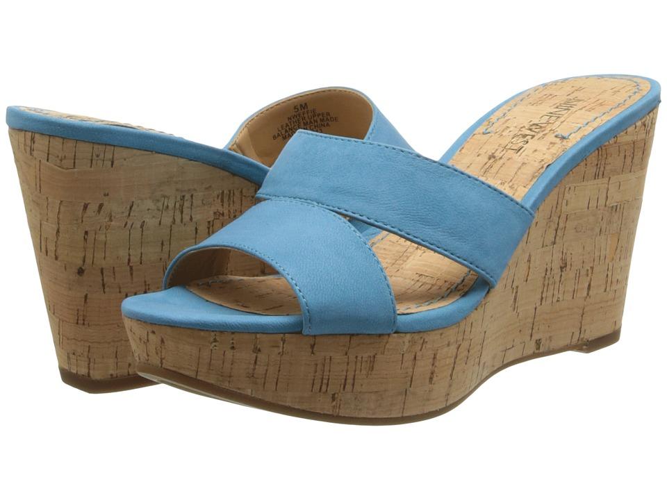 Nine West - Effie (Blue Nubuck) Women