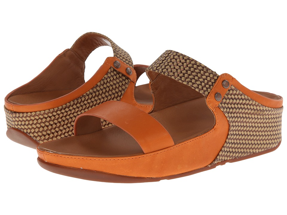FitFlop - Amsterdam (Sunbaked Orange) Women's Sandals