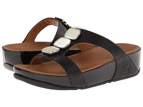 FitFlop - Pietra II Slide (Black) Women's Sandals