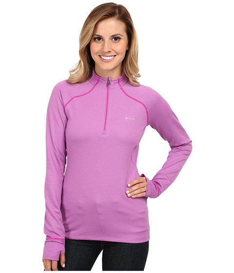 Columbia - Heavyweight 1/2 Zip (Blossom Pink/Groovy Pink) Women