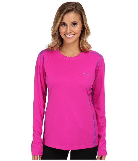 Columbia - Midweight II L/S Top (Groovy Pink/Harbor Blue Stitch) Women
