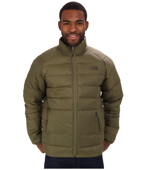 The North Face - Aconcagua Jacket (Burnt Olive Green) Men's Coat