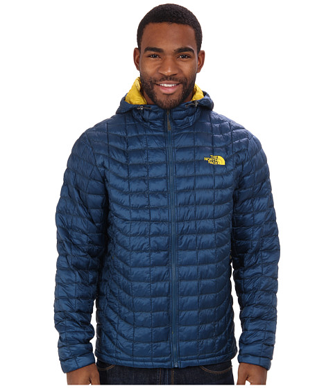 The North Face - ThermoBall Hoodie (Monterey Blue) Men