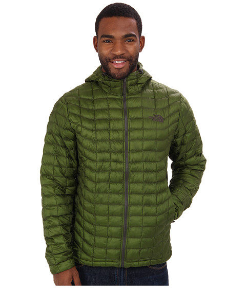 The North Face - ThermoBall Hoodie (Scallion Green) Men