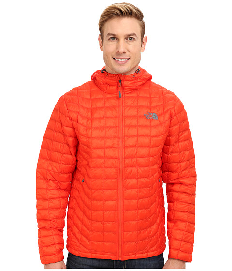 The North Face - ThermoBall Hoodie (Valencia Orange) Men