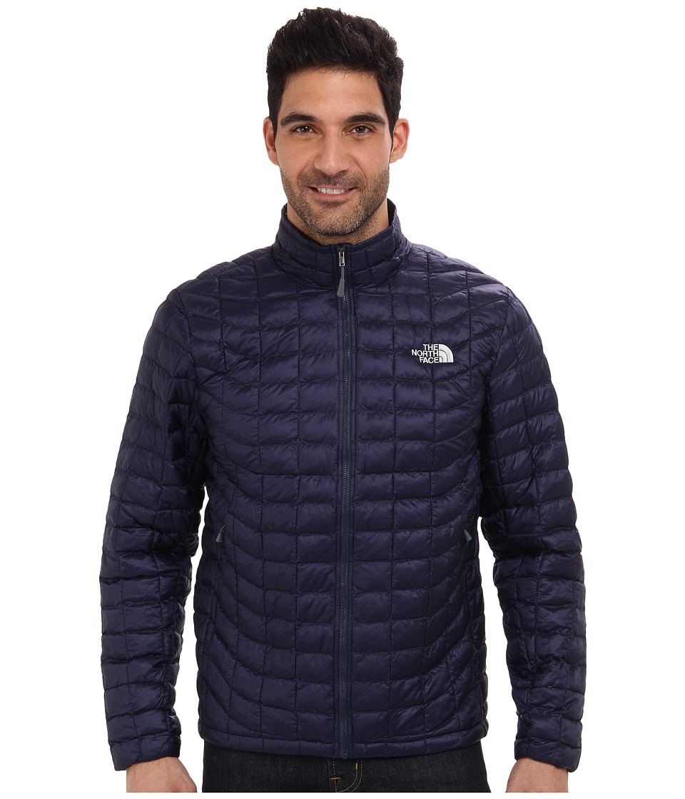 The North Face - ThermoBall Full-Zip Jacket (Cosmic Blue) Men's Coat