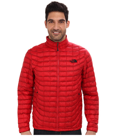 The North Face - ThermoBall Full-Zip Jacket (Rage Red) Men