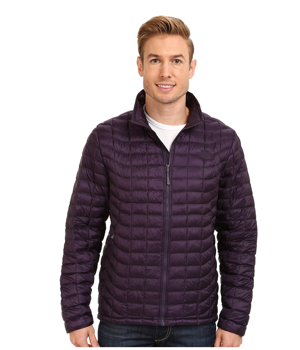 The North Face - ThermoBall Full-Zip Jacket (Dark Eggplant Purple) Men