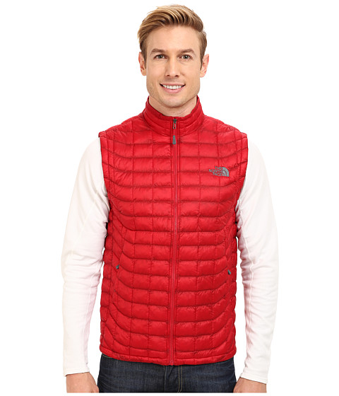 The North Face - ThermoBall Vest (Rage Red) Men's Vest