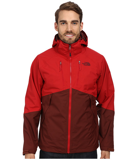 The North Face - Condor Triclimate Jacket (Cherry Stain Brown/Rage Red) Men