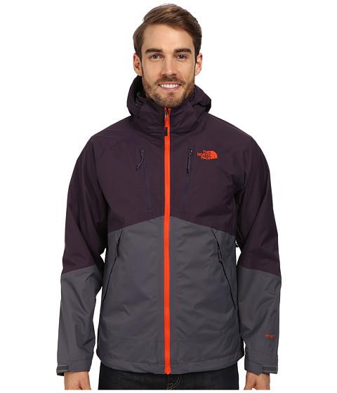 The North Face - Condor Triclimate Jacket (Vanadis Grey/Dark Eggplant Purple) Men