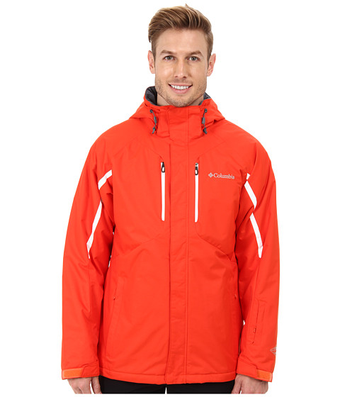 Columbia - Cubist IV Jacket (State Orange/White) Men's Jacket