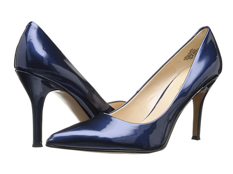 Nine West - Flax (Blue Synthetic) High Heels