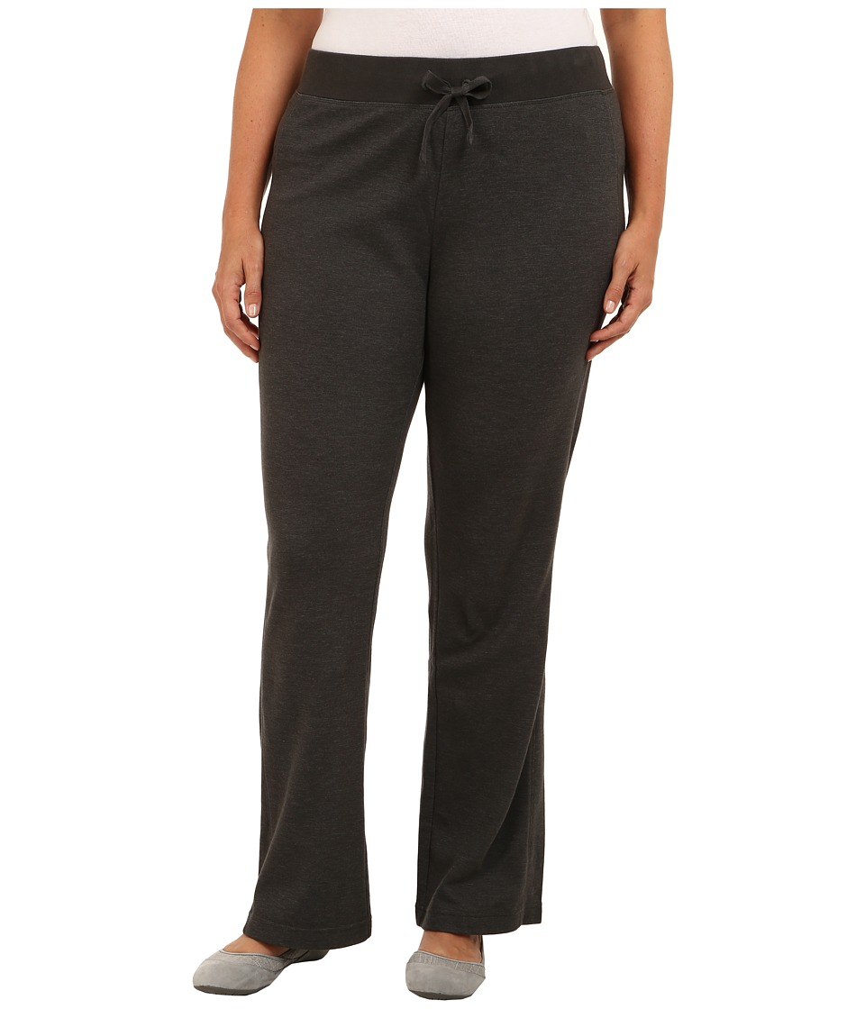 Columbia - Plus Size Heather Hills Pant (Coal) Women