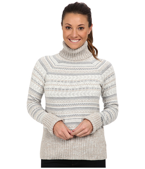 Columbia - Winter Worn II Turtleneck (Moonstone) Women's Long Sleeve Pullover