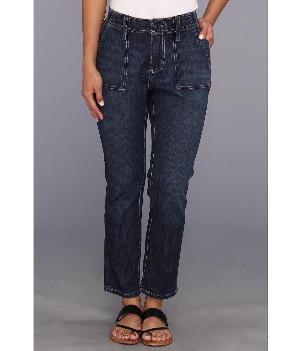 Jag Jeans Petite - Petite Andrew Surplus Crop in Indigo (Indigo) Women's Jeans