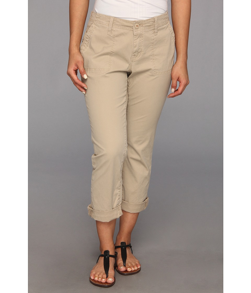 Jag Jeans Petite - Petite Andrew Surplus Crop in British Khaki (British Khaki) Women's Casual Pants