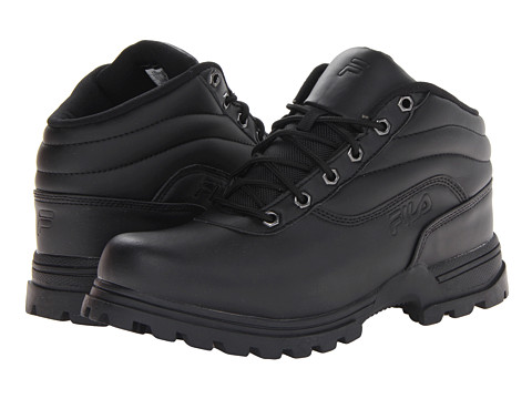 Fila - Adventura (Black/Black/Dark Silver) Men