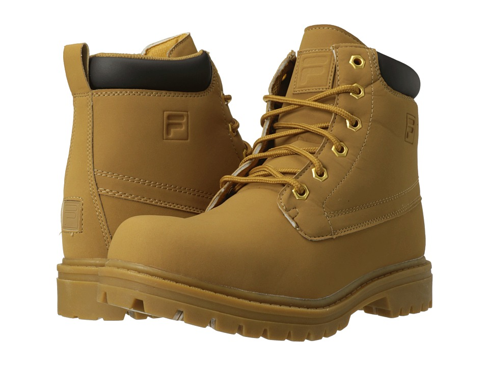Fila - Edgewater 12 (Wheat/Gum) Men's Lace-up Boots