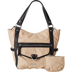 SALE! $29.99 - Save $59 on Franco Sarto Amber Tote (Stone Black) Bags and Luggage - 66.30% OFF $89.00