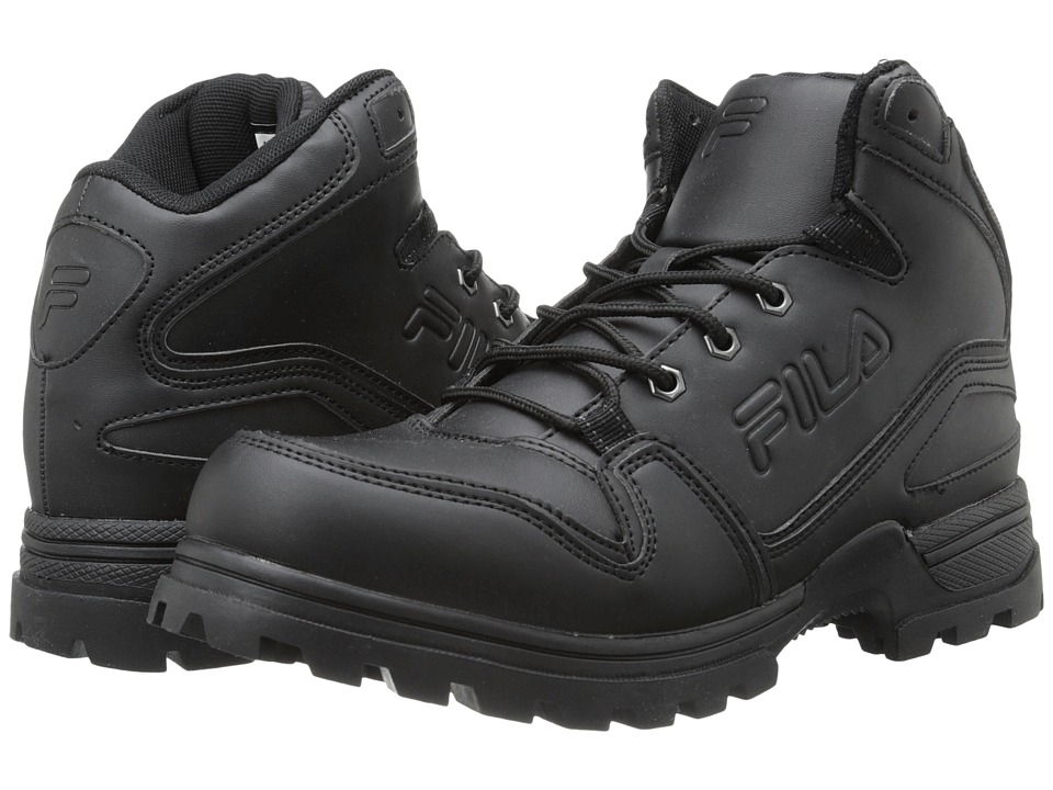 Fila - Resolute Wt (Black/Black/Black) Men's Shoes