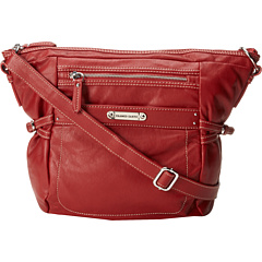 SALE! $34.99 - Save $54 on Franco Sarto Dakota Large Crossbody (Tomato Red) Bags and Luggage - 60.69% OFF $89.00
