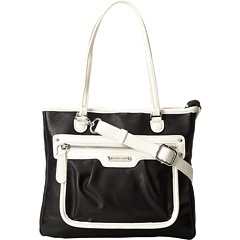 SALE! $26.99 - Save $42 on Franco Sarto Gramercy Large Crossbody (Black White) Bags and Luggage - 60.88% OFF $69.00