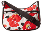 LeSportsac Classic Hobo Bag (Garden Poppy) Cross Body Handbags