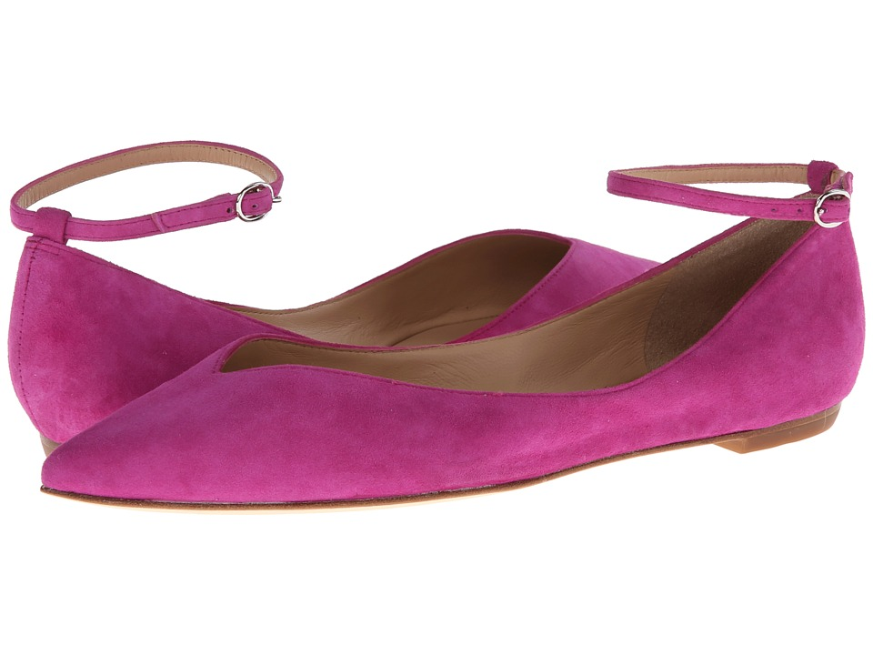 Belle by Sigerson Morrison - Sable (Medium Pink Suede) Women's Slip on Shoes