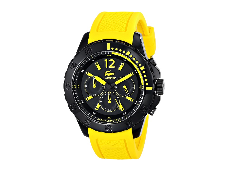 Lacoste - Fidji (Yellow/Black) Watches