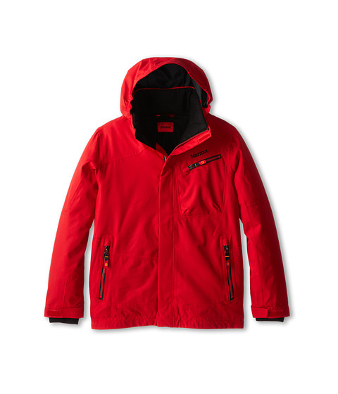 Marmot Kids - Boy's Freerider Jacket (Little Kids/Big Kids) (Team Red) Boy's Coat