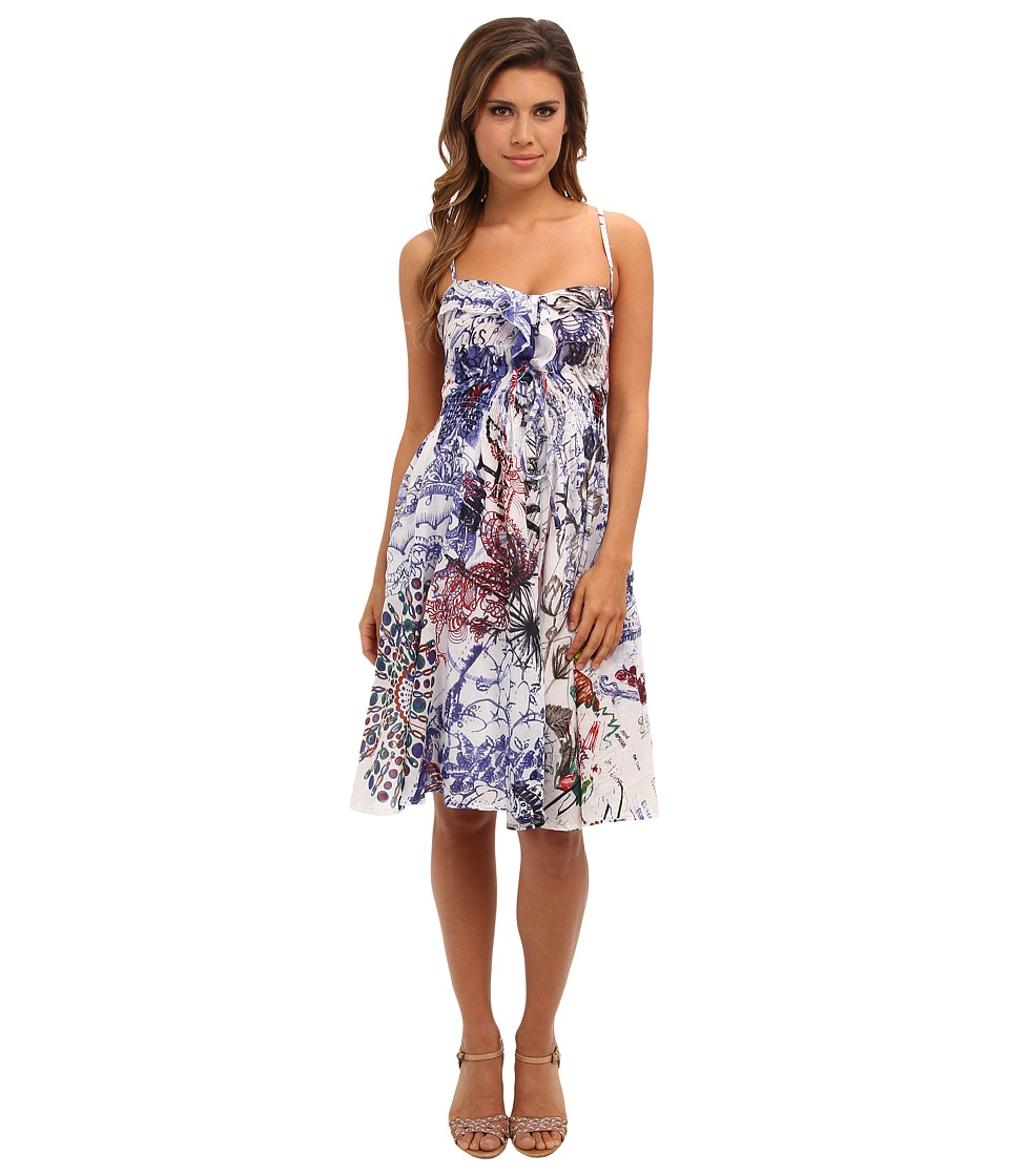 Desigual - La La Dress (Blanco) Women