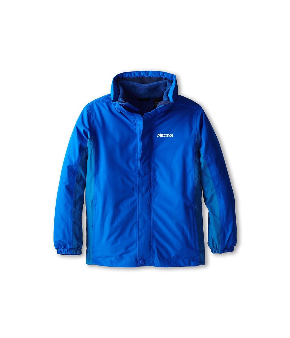 Marmot Kids - Boy's Northshore Jacket (Little Kids/Big Kids) (Peak Blue/Dark Sapphire) Boy's Jacket
