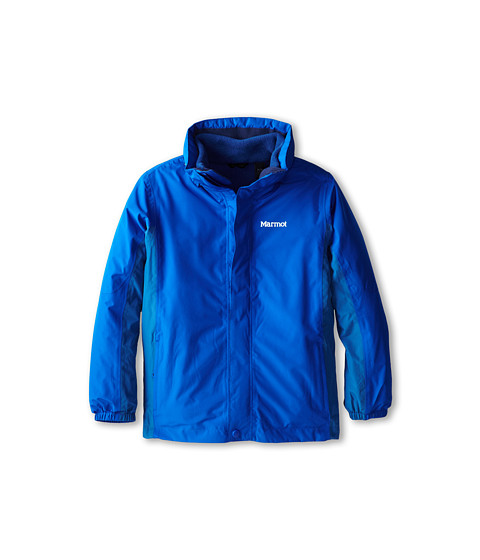 Marmot Kids - Boy's Northshore Jacket (Little Kids/Big Kids) (Peak Blue/Dark Sapphire) Boy's Jacket