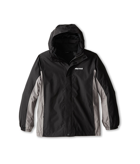 Marmot Kids - Boy's Northshore Jacket (Little Kids/Big Kids) (Black/Cinder 1) Boy's Jacket