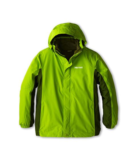 Marmot Kids - Boy's Northshore Jacket (Little Kids/Big Kids) (Green Lichen/Greenland) Boy's Jacket