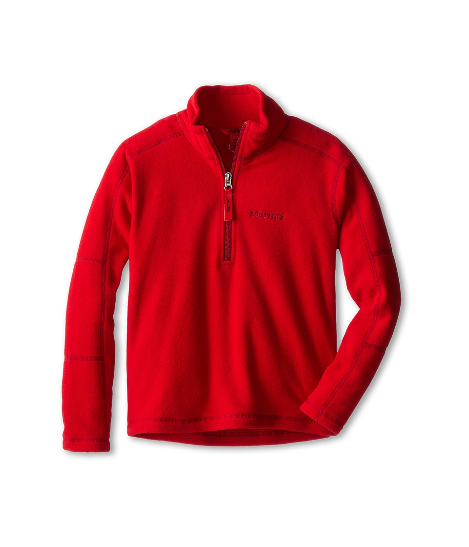 Marmot Kids - Boy's Rocklin 1/2 Zip (Little Kids/Big Kids) (Team Red) Boy's Sweatshirt