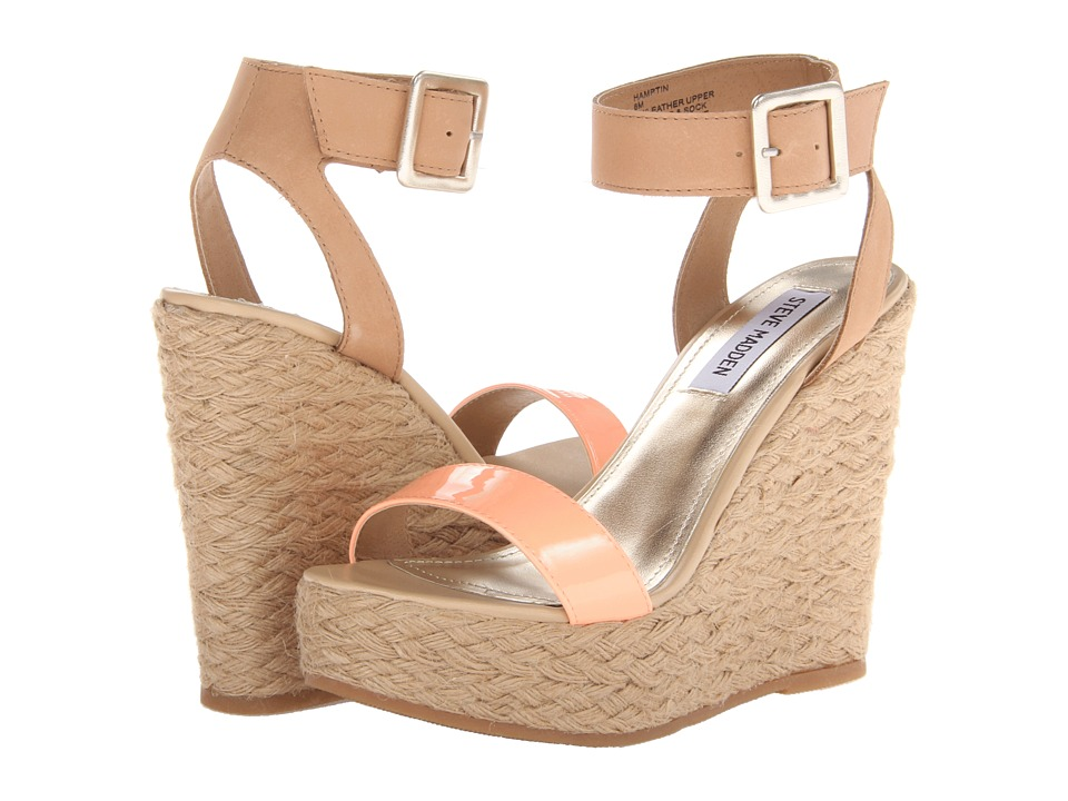 Steve Madden - Hamptin (Natural Multi) Women's Wedge Shoes