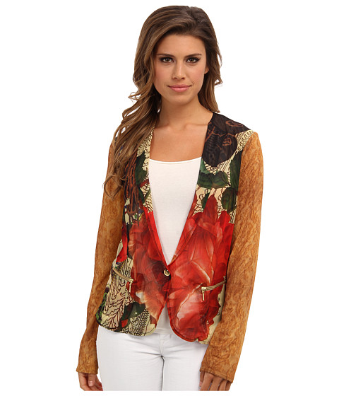 Desigual - Ame Jacket (Mousse Limon) Women