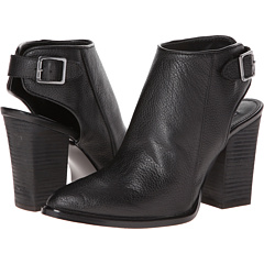 Steve Madden Mallia (Black Leather) Footwear