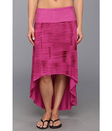 Pink Lotus - High Low Skirt (Plumeria) Women