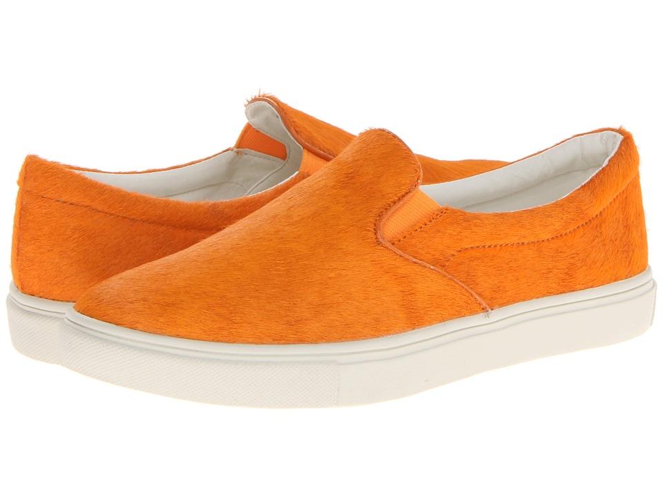 Steve Madden - Ecentric (Orange) Women's Slip on Shoes