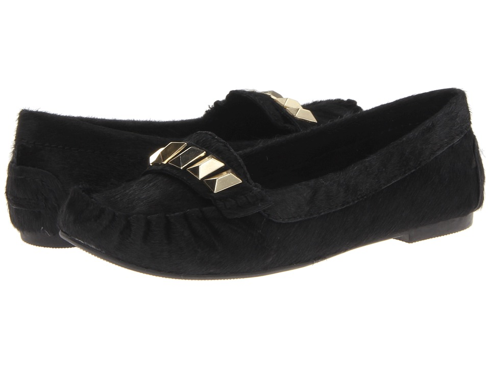 Steve Madden - Mistro-L (Black Pony) Women's Slip on Shoes