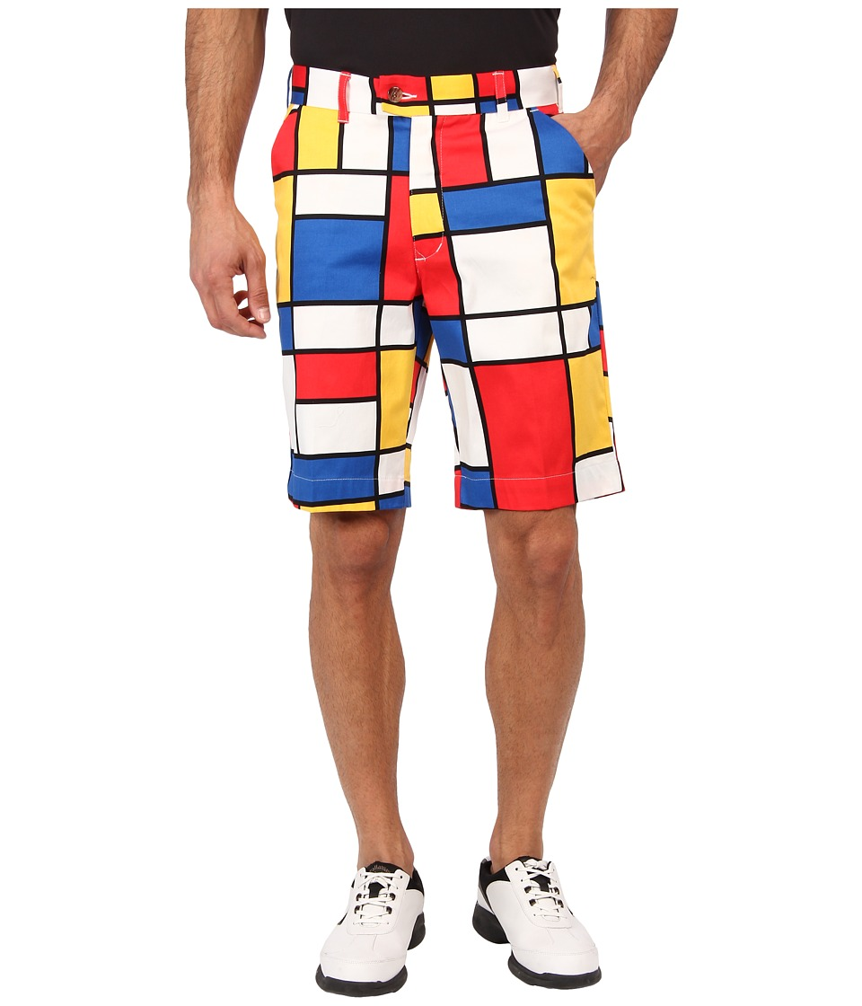 Loudmouth Golf - Dutch Treat Short (Multi) Men