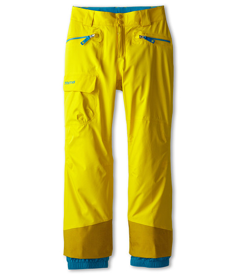 Marmot Kids - Girl's Freerider Pant (Little Kids/Big Kids) (Yellow Vapor) Girl's Casual Pants